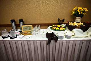 Banquet and event catering at Honey Creek Resort