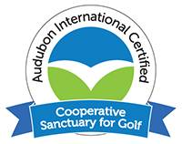 Audubon International Cooperative Sanctuary for Golf certification logo