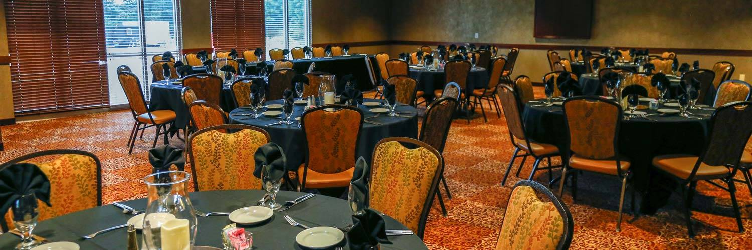 Spacious meeting and conference space at Honey Creek Resort
