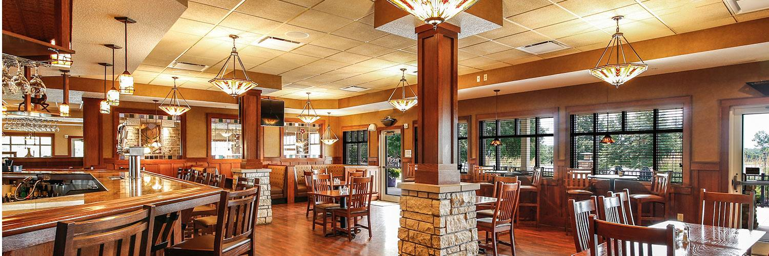 Honey Creek Resort restaurant interior