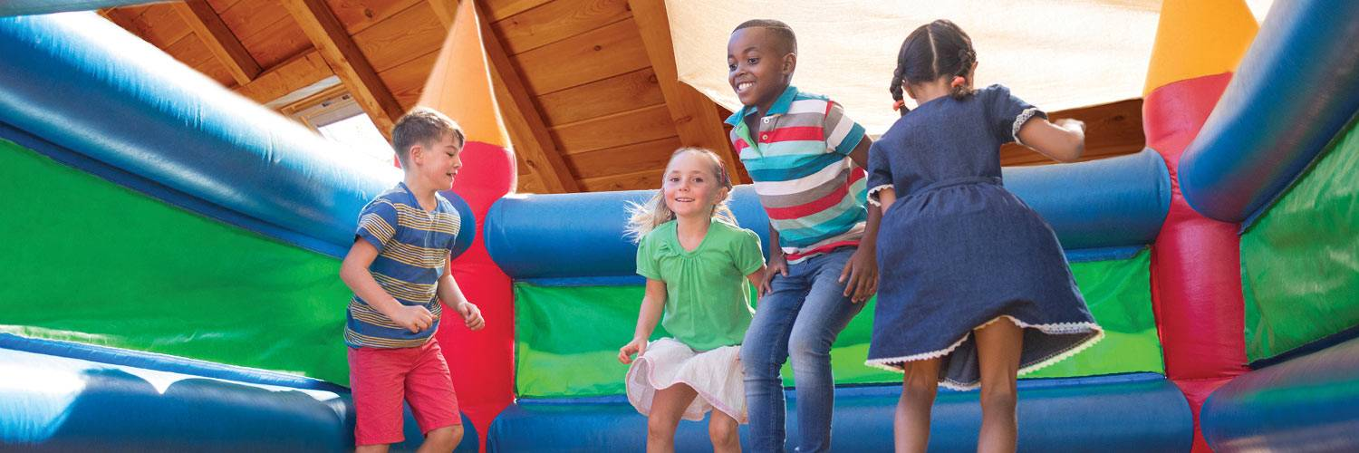 Enjoy a day of family fun at Kids at the Creek at Honey Creek Resort