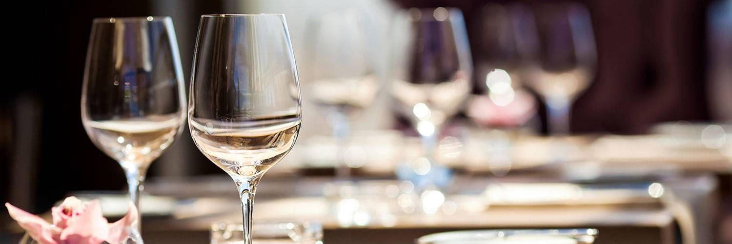 Enjoy wine at the Honey Creek Resort restaurant bar
