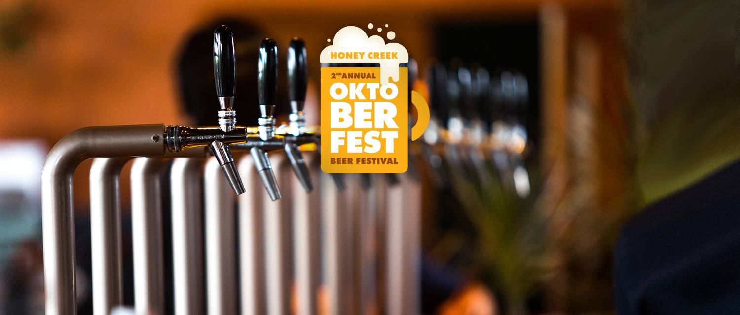 Beer taps at Honey Creek Resort's 2nd Annual Oktoberfest Beer Festival