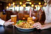 Beer and burgers served at Rathbun Lakeshore Grille